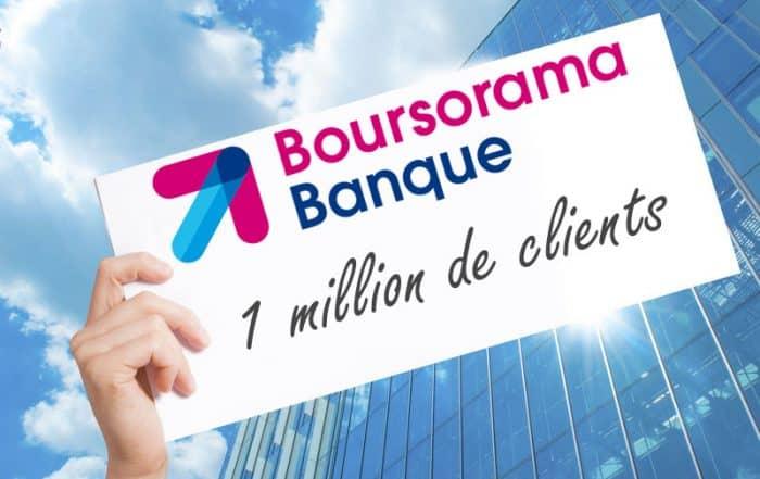 un million de clients boursorama