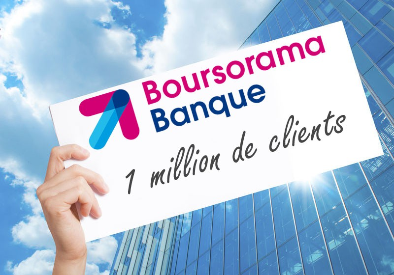 un million de clients boursorama