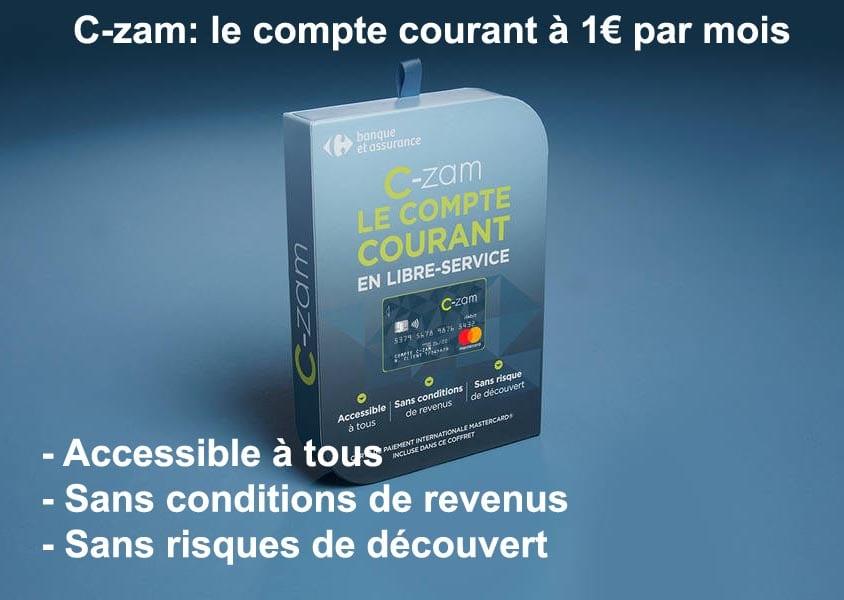 C Zam Le Compte Courant A 1 Par Mois 01 Banque En Ligne