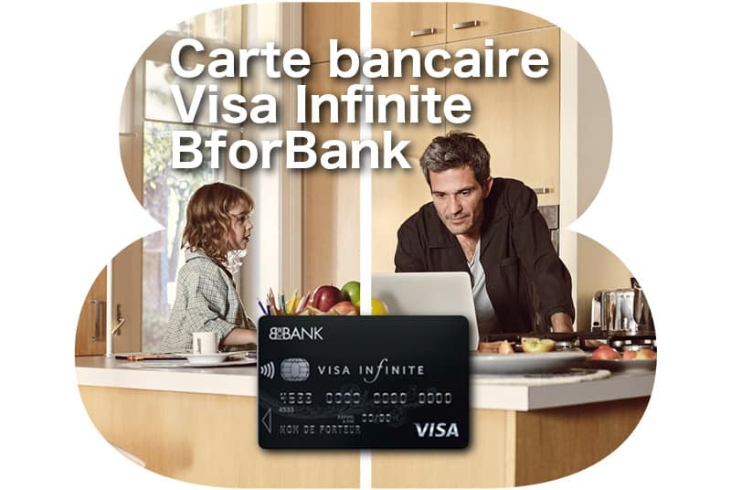carte Visa Infinite BforBank