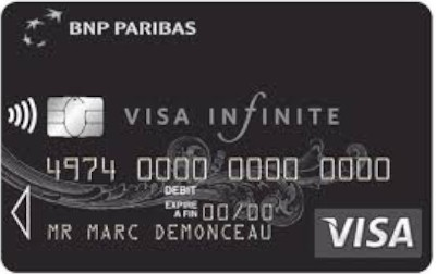 CB Visa infinite banque traditionnelle