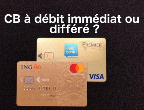 Débit immédiat ou différé pour sa carte bancaire ?
