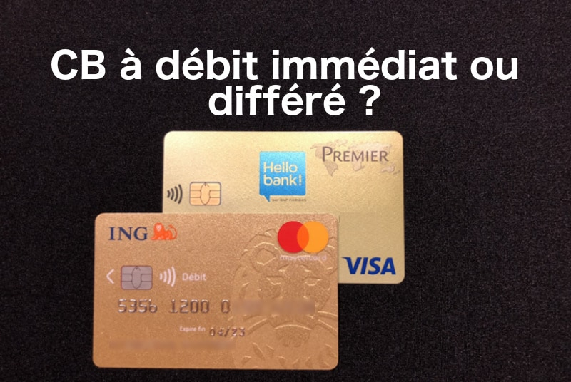 Carte Bleue Or.Debit Immediat Ou Differe Pour Sa Carte Bancaire 01