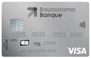 CB gratuite Welcome Boursorama Banque