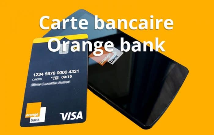 carte bancaire orange bank