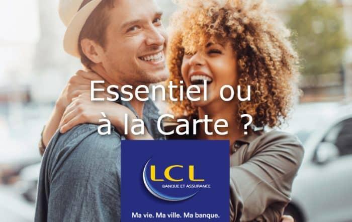 LCL essentiel ou LCL a la carte