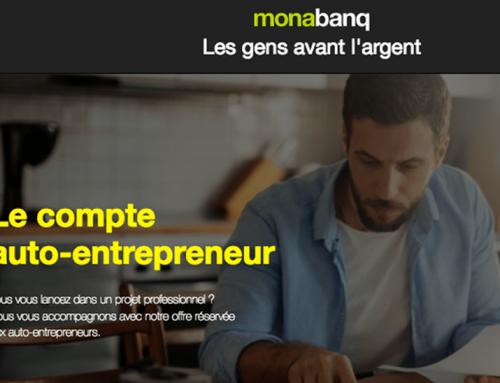 Monabanq lance le compte auto-entrepreneur