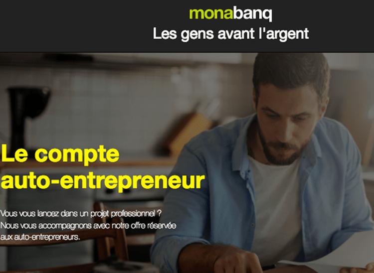 Monabanq lance le compte auto entrepreneur 01 banque en for Resilier son compte bancaire