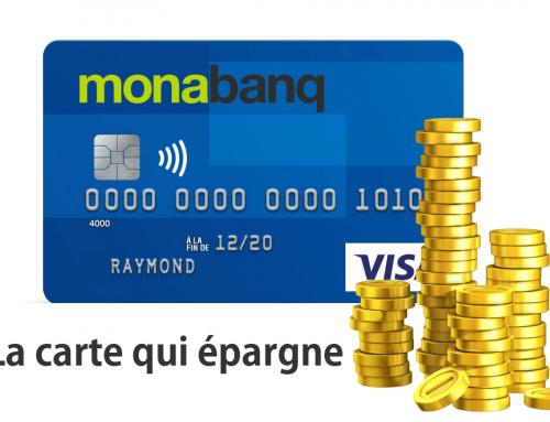 Carte qui épargne Monabanq