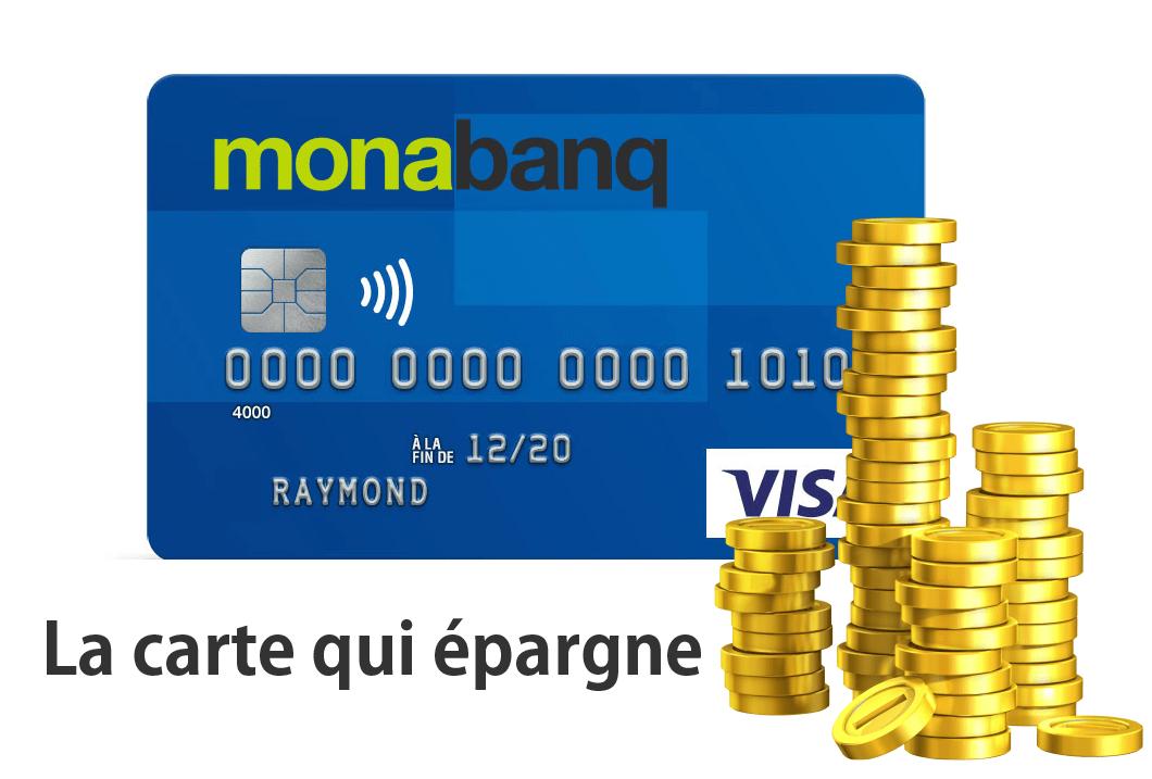 Monabanq carte bancaire qui epargne