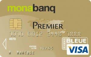 Carte bancaire visa premier monabanq