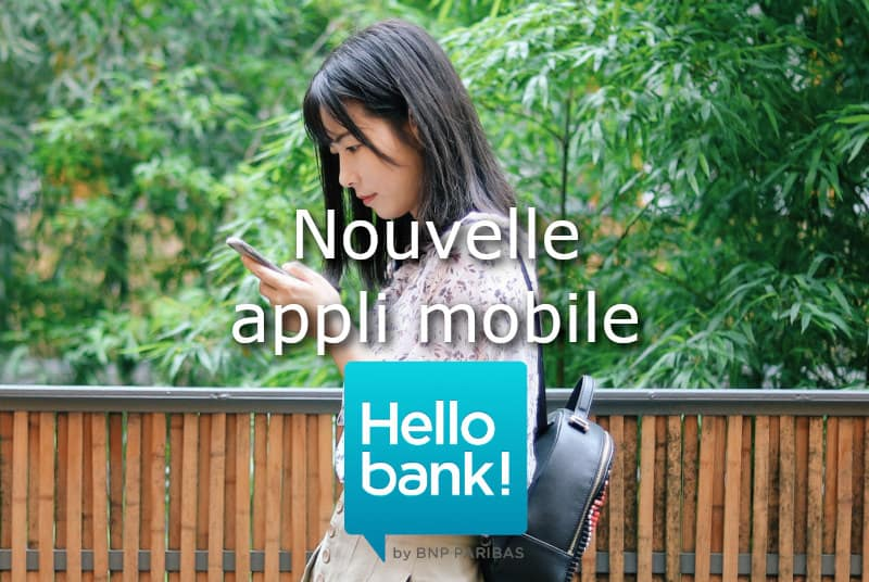 Nouvelle appli mobile Hello bank