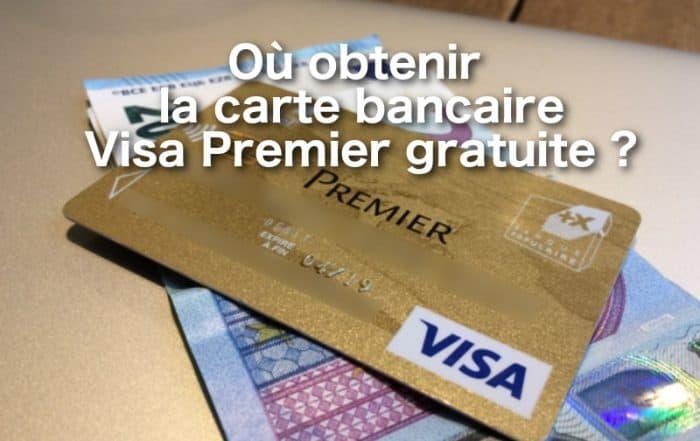 Visa premier gratuite