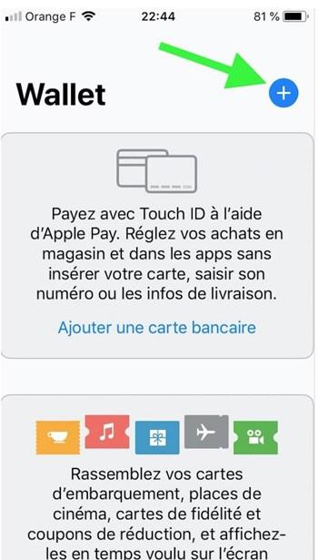 ajouter carte bancaire dans wallet apple pay