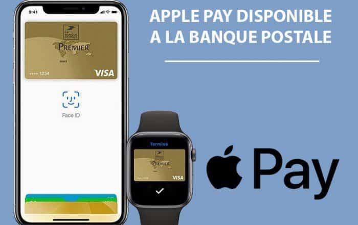 Apple pay disponible la banque postale