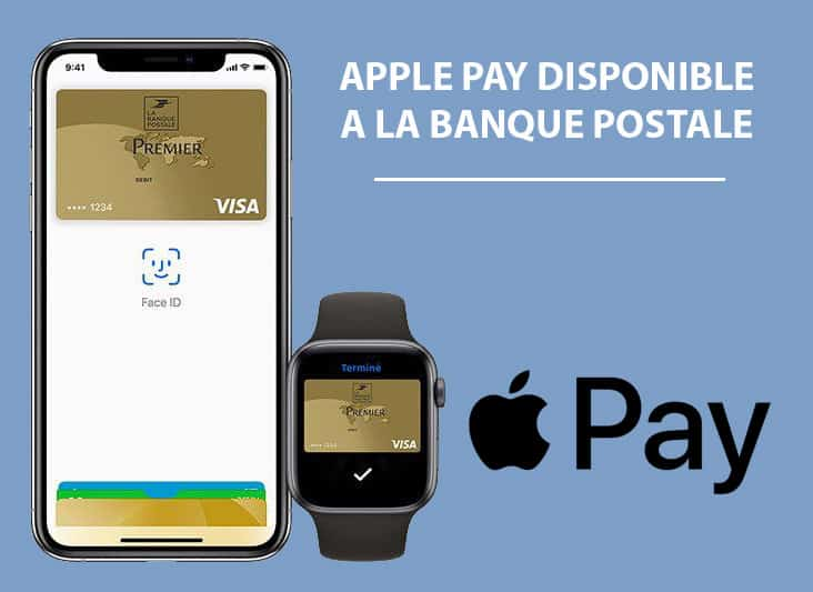 Apple pay disponible la banque postale