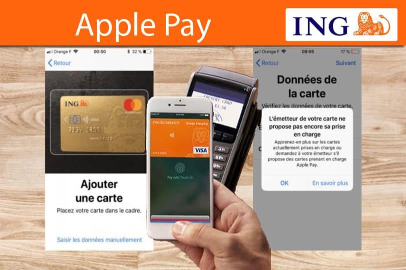 Apple pay avec ing