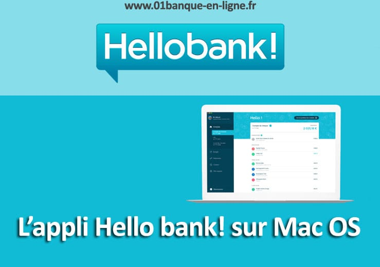 Application Hello bank sur Mac OSX
