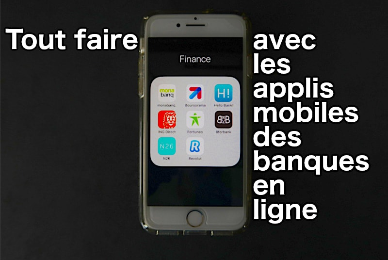 application mobile banque en ligne