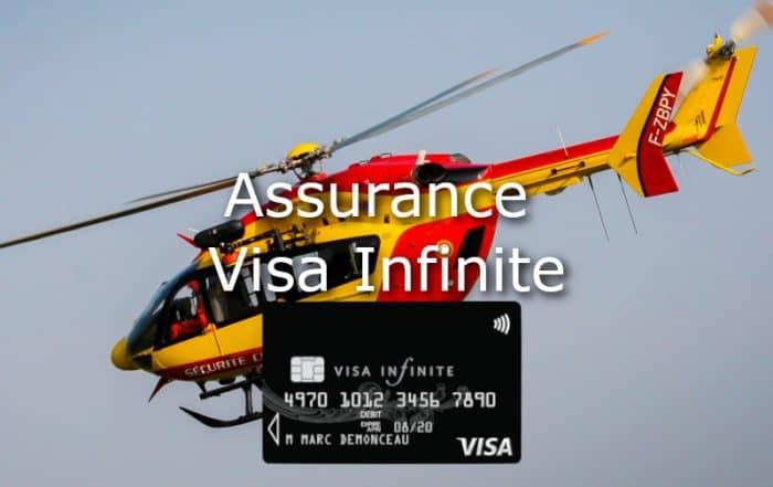 assurance visa infinite