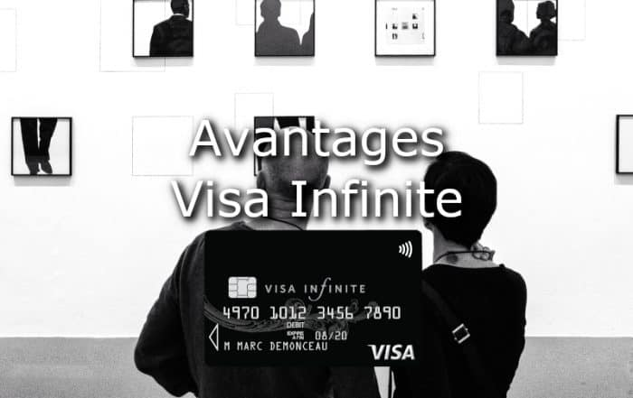 avantages visa infinite