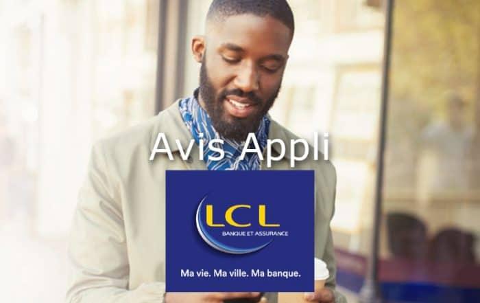 avis application mobile LCL