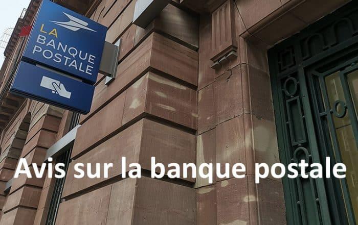Avis de la banque postale