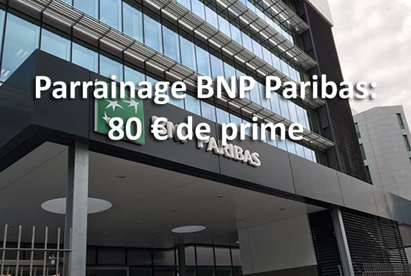 bnp paribas parrainage prime 80 euros