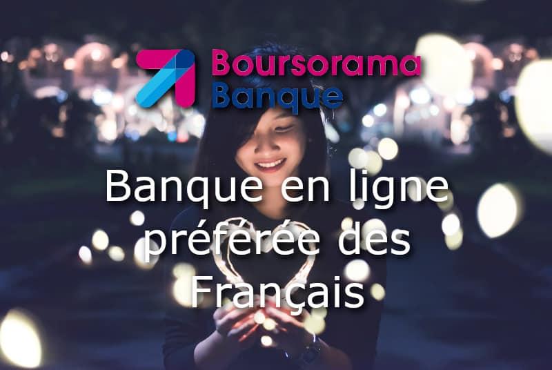 boursorama banque en ligne preferee francais