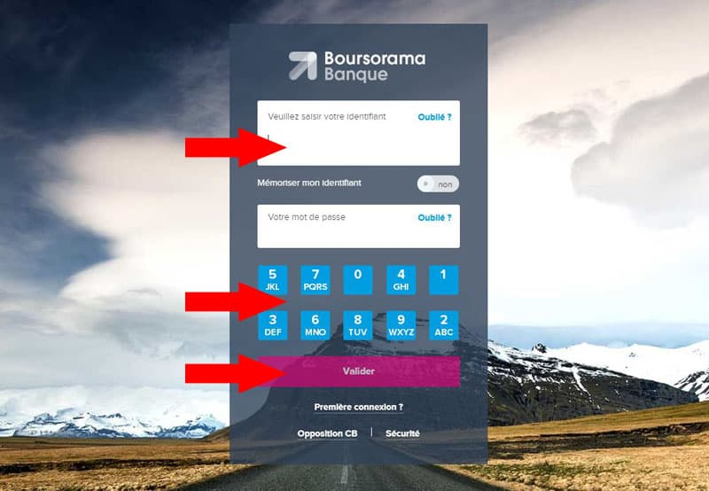 Boursorama édition rib sur ordinateur identification