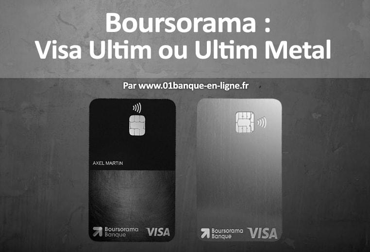 compte bancaire ultim boursorama banque