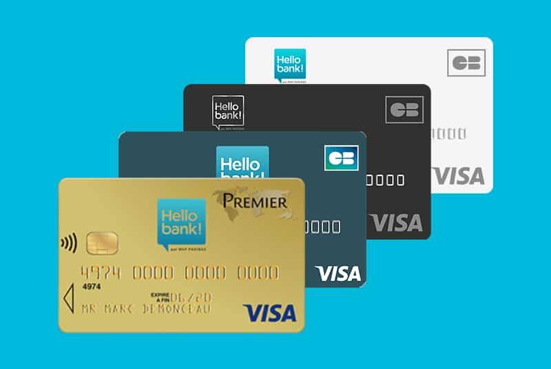 carte bancaire hello bank