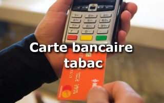 carte bancaire bureau de tabac