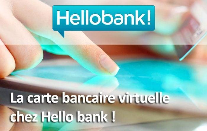 Carte bancaire virtuelle Hello bank!