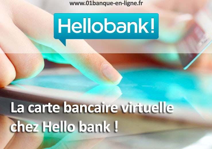 Carte bancaire virtuelle Hello bank!