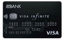 carte bancaire visa infinite bforbank