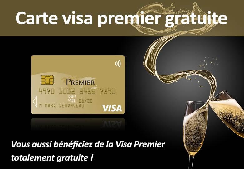 Comment Obtenir La Visa Premier Gratuite 01 Banque En Ligne