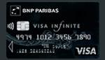 Carte visa infinite de la bnp