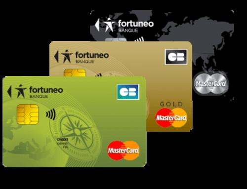 Carte bancaire gratuite Fortuneo