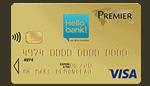Carte bancaire Hellobank visa premier