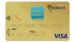 Carte Visa Premier Hello bank