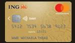 CB gratuite gold mastercard ING