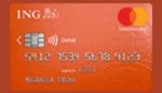 CB gratuite standard mastercard ING