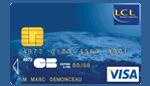 Visa cleo et premier LCL