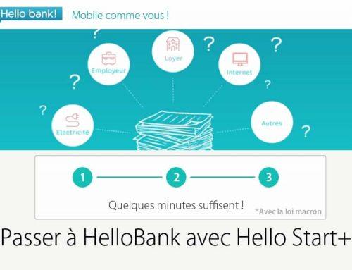 Changer de banque pour Hello Bank (Hello Start)