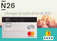 Changer le code de la carte bancaire n26