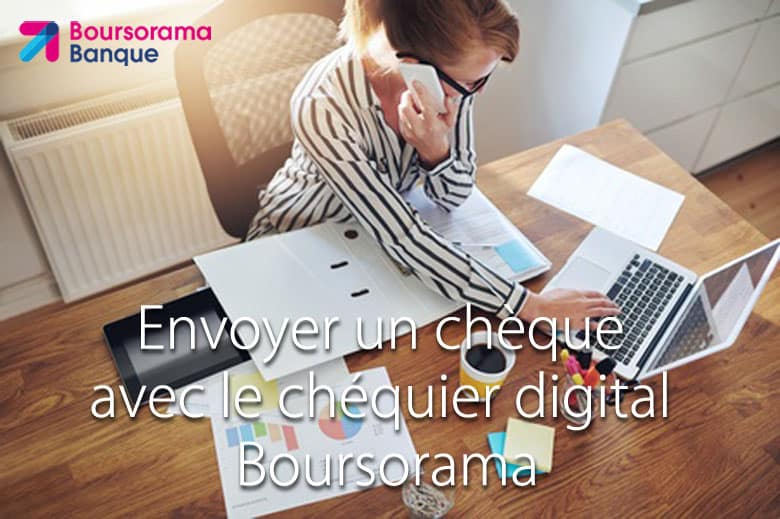 chequier digital boursorama