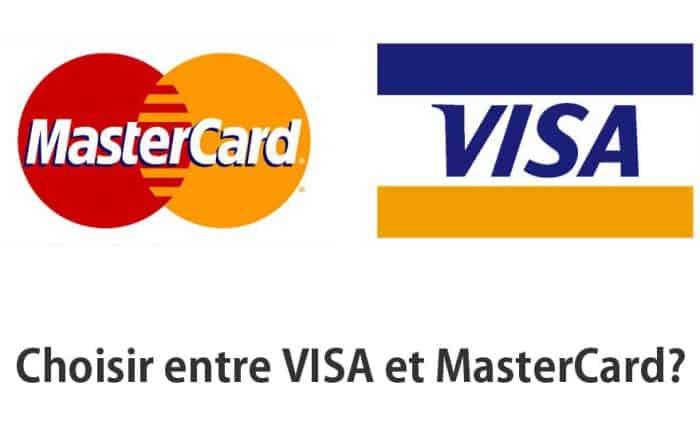 choisir visa ou mastercard