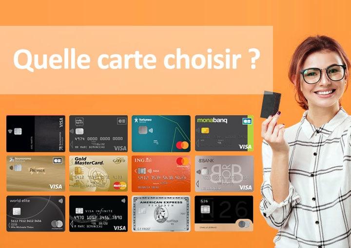 Comment bien choisir sa carte bancaire ? - 01 banque en ligne