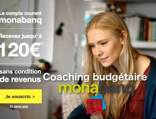 Le coaching budgétaire gratuit de Monabanq